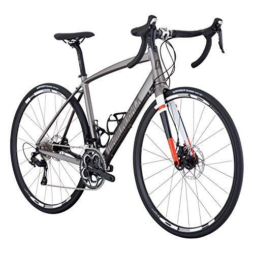 Diamondback Bicycles Airen 1 Women's Endurance Road Bike, Silver, 56cm/Large