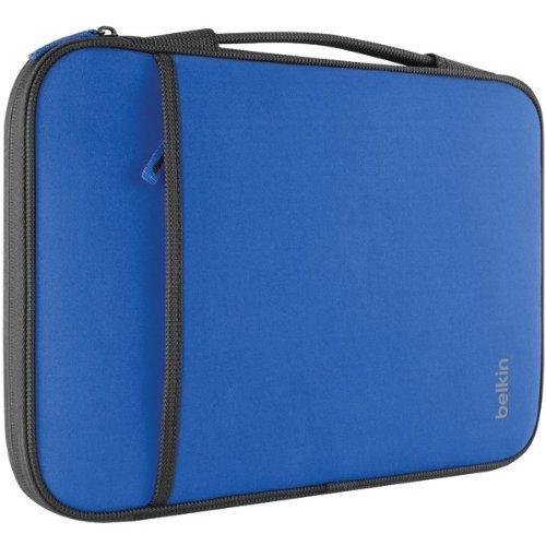 """BELKIN B2B081-C01 11"""" Netbook/Chromebook Sleeve (Blue) (B2B081-C01)"""