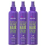 Aussie Hairspray, with Bamboo & Plum, Headstrong Volume, 8.5 fl oz, Triple Pack
