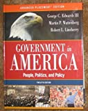 Government in America : School Binding, Edwards and Wattenberg, 0321292367