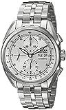 Bulova Accu Swiss Men's 63C120 Mechanical Hand Wind Silver Watch