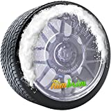 RimBrim Protect Wheels, Calipers, and Discs from Tire Shine Overspray