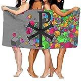 7 Christian Symbols 100% Polyester Velvet Absorbent Washcloths 31 X 51 Inches