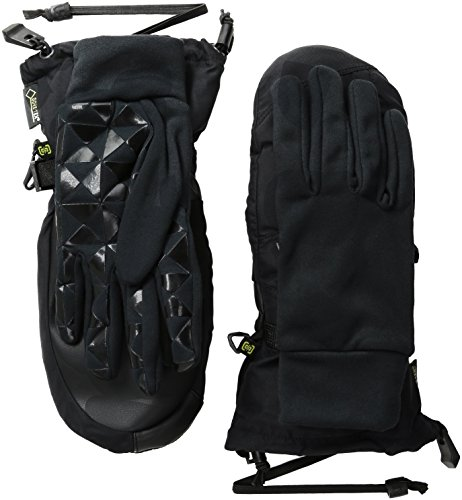 BURTON Women's Gore-Tex Mitt, True Black, Small