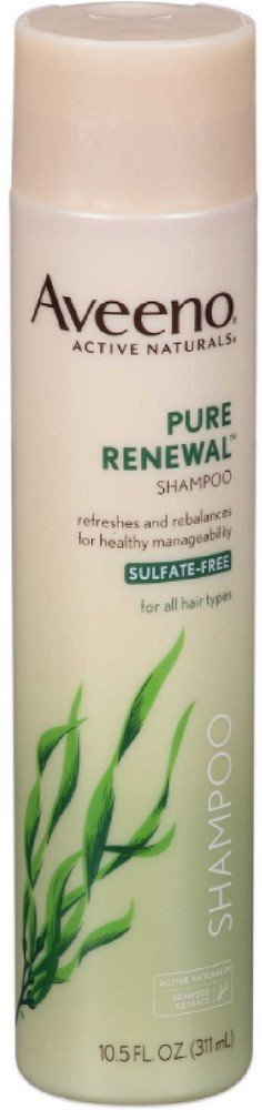 AVEENO Active Naturals Pure Renewal Shampoo 10.50 oz (Pack of 10)