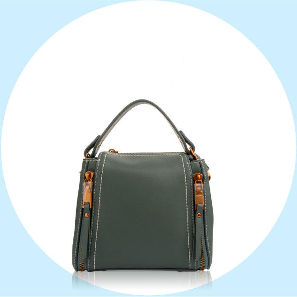 Color : Black Lxf20 Korean version of the wild bucket bag Messenger shoulder bag bucket bag