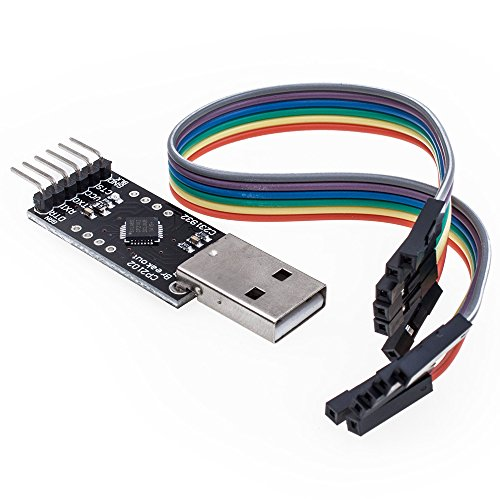 KEDSUM CP2102 Module STC Download Cable USB 2.0 to TTL 6PIN Serial Converter For STC
