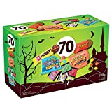 HERSHEY'S 70ct Assorted Halloween Chocolate and Candy 708g- Includes: Reese. Halloween Candy. Reese's Pieces, OH Henry! and Jolly Rancher Snack Sized Candies.