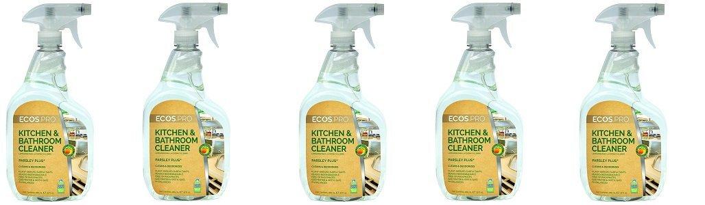 Ecos Pro pl9746 / 6 all-purpose kitchen-bathroomクリーナーパセリプラス(Pack of 6 ) 5-(Pack) B07G1DG6KJ  5-(Pack)