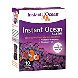 Instant Ocean Sea Salt, 10-Gallon (Net wt : 3 Lbs)
