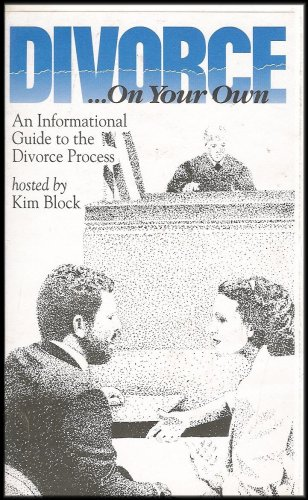 Divorce On Your Own - An Informational Guide to the Divorce Process (VHS VIDEO)