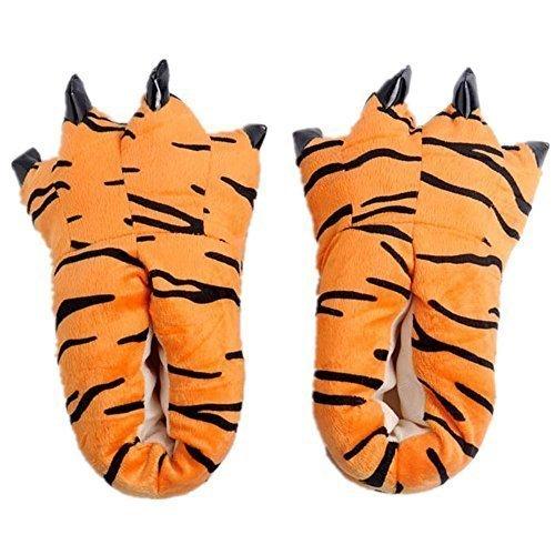 Japsom Unisex Cozy House Monster Slippers Halloween Animal
