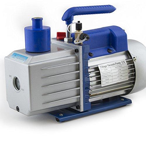 ARKSEN 2-Stage Deep Vacuum Pump (1/2HP, 5CFM) AC Refrigerant, R410a R134 HVAC