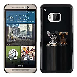 iKiki Tech / Estuche rígido - sobaka vzglyad drug - HTC One M9