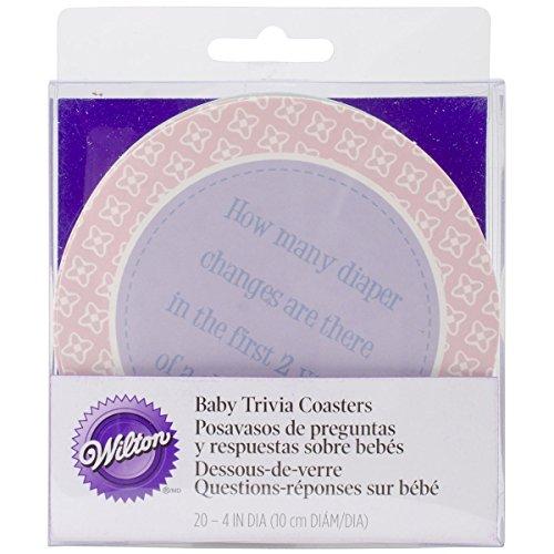 Wilton Baby Trivia Coasters