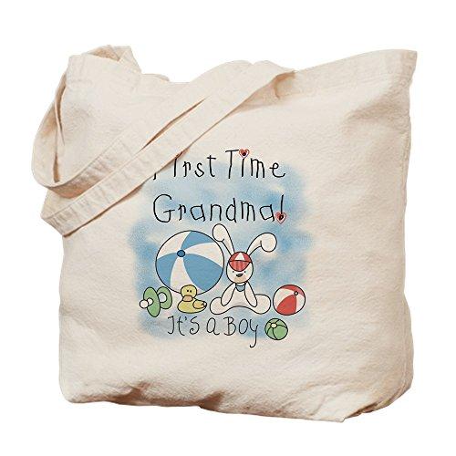 CafePress–abuela Baby Boy Tote Bag–Natural gamuza de bolsa de lona bolsa, bolsa de la compra