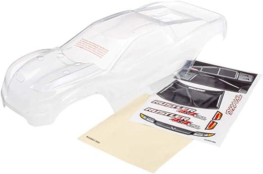Traxxas Rustler - Carrocería Transparente para Pintar (4 x 4-TRX6717)