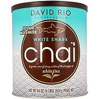 David Rio - Chai Tee - DAVID RIO Chai Tea - David Rio Chai - White Shark 1814g tin
