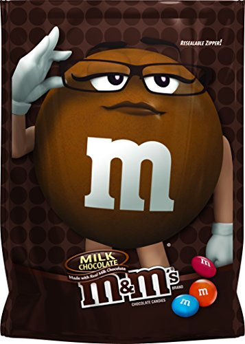 M&M'S Milk Chocolate Candy Bag