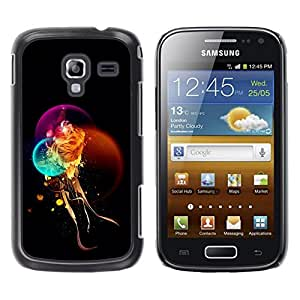 "For Samsung Galaxy Ace 2 , S-type Fantasía místico león"" - Arte & diseño plástico duro Fundas Cover Cubre Hard Case Cover"