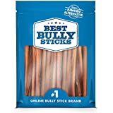 Best Bully Sticks 6-inch Odor-Free Angus Bully Sticks, Free Range, Grass-Fed Angus Beef, Superior Rawhide Alternative, 20 Pack