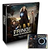Fringe Seasons 1 & 2 Trading Card Album with Exclusive M-17 Wardrobe Card