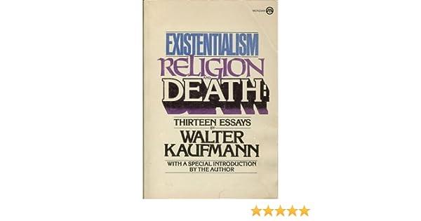 Walter kaufmann death essay