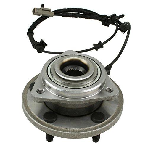 WJB WA513234HD Heavy Duty Version Front Wheel Hub Assembly Wheel Bearing Module Cross Timken HA590036 Moog 513234 SKF BR930634, 1 Pack from WJB