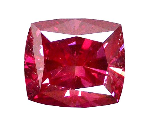 DirectDiam 100% Natural 1.43 Ct Loose Fancy Purple Red Diamond, SI1 Radiant Diamond GIA Certified, for Jewelry
