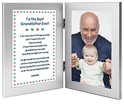 """To the Best Grandfather Ever"" Birthday Gift From His Baby Grandchild - Add Photo"