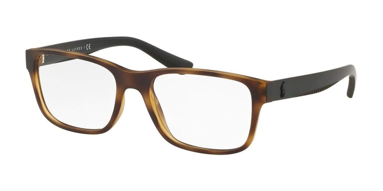 Eyeglasses Polo PH 2195 5182 MATTE DARK HAVANA