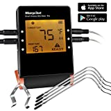 Best Char-Broil Meat Thermometer For Grillings - Wireless Meat Thermometers for Grill Smoker, Morpilot Bluetooth Review