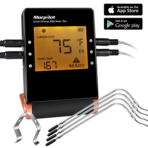 Wireless Thermometers Morpilot Bluetooth Thermometer