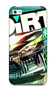 Shock-dirt Proof 2011 Dirt 3 Game Case Cover For Iphone 5c