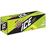 diet mountain dew cans - Mountain Dew ICE Soda Cans (12 Count, 12 Fl Oz Each)