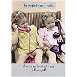 Friends Are For Life Birthday Greeting Card Square Milk Range Cards
