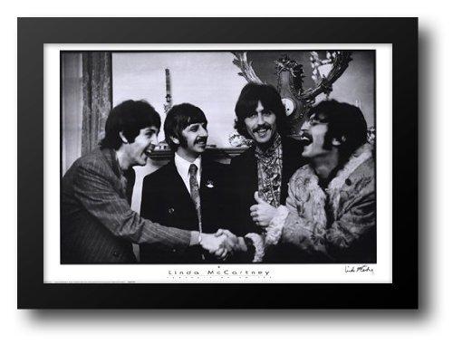Beatles Portrait - Beatles, Portrait of an era 36x28 Framed Art Print by McCartney, Linda