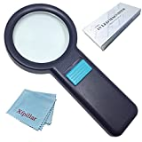 Best Magnifier With Resin Handles - Xfpillar Magnifying Glass with Light Magnifier for Reading Review