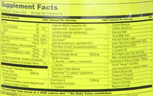Universal Nutrition Shock Therapy, Grape Ape, 200 Grams