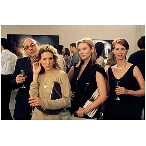 - Sex and the City 8x10 Photo Willie Garson, Sarah Jessica Parker, Kim Cattrall & Cynthia Nixon w/Champagne