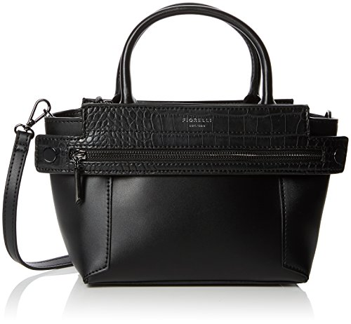 Abbey black Top Bag Croc handle Women's Fiorelli Mix Black vqw66