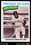 1977 Topps # 433 Turn Back The Clock Nate Colbert San Diego Padres (Baseball Card) Dean's Cards 4 - VG/EX Padres