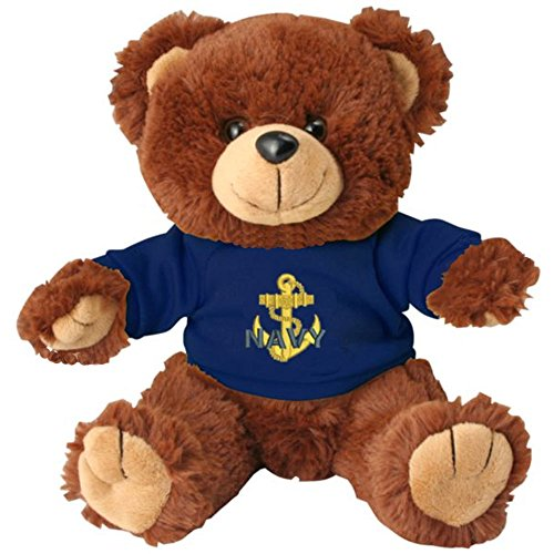 Navy Bear Teddy (US Navy Anchor Toy Brown Teddy Bear)