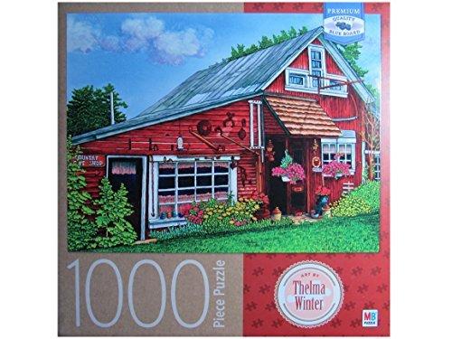 Thelma Winter's Country Gift Shop, Eden ~ NY 1000 Piece Puzzle (Eden Easel)