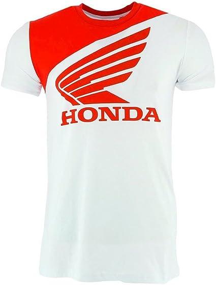 Honda Team HRC 2018 Mens White T-Shirt Official Teamwear MotoGP MXGP Bike Race