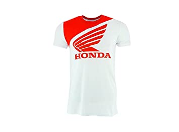 Honda Hrc Bike Racing Team Mens T Shirt Whitered Motogp Superbike