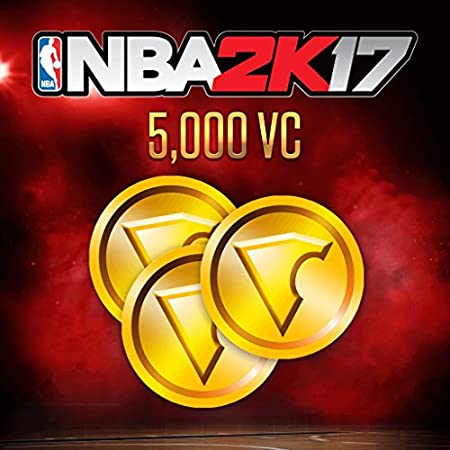 NBA 2K17: 5,000 VC - PS4 [Digital Code]