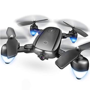 LUOLIN - Cámara aérea para dron con Mando a Distancia GPS Drone 4K ...