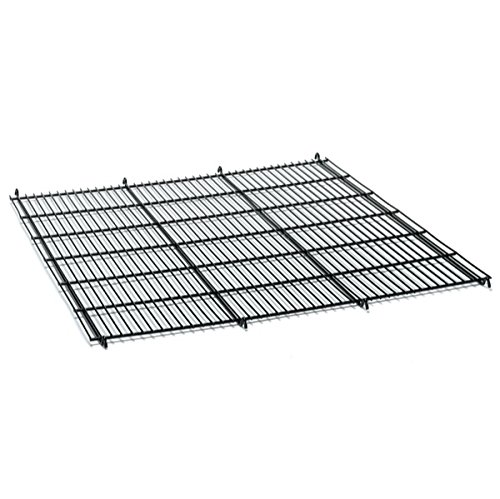 Pro Select Replacement Floor Grates for Modular Cages - Black Epoxy-Coated Floor Grates for ProSelect Modular Cages, 24 x 22½ x ¾