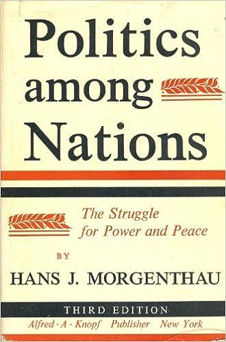 Politics Among Nations Morgenthau Book